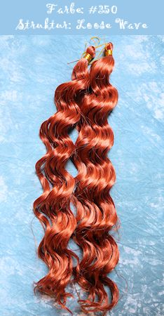Thermofiberhaare Magic Style Heat, Farbe #350, Struktur Loose Wave